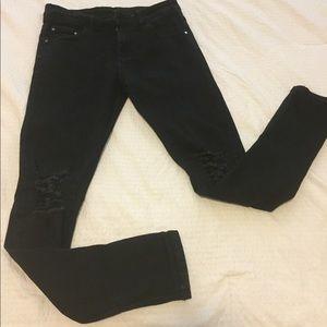 BALMAIN Black Jeans
